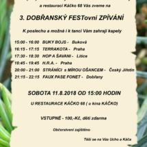 2018_08_11 Dobřany plakát